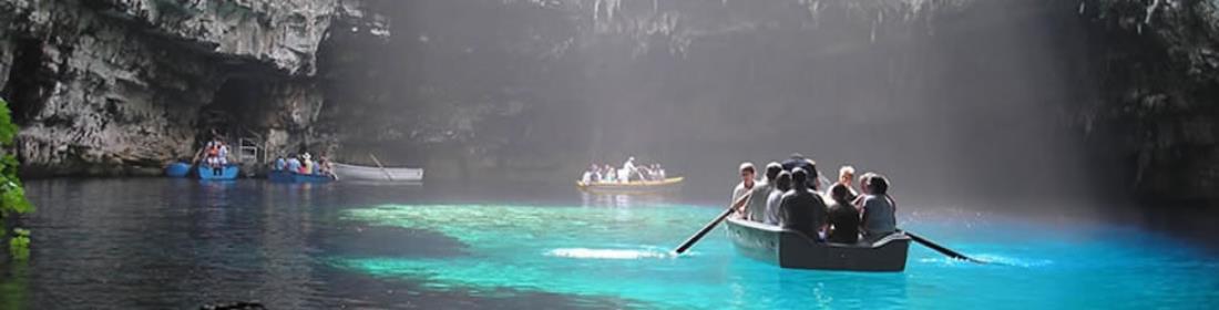 Κεφαλονιά - Το Λιμνοσπήλαιο της Μελισσάνης